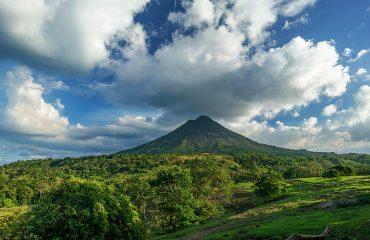costa rica vulkán